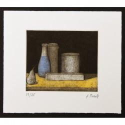 La mesa amarilla II